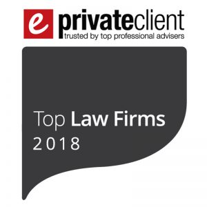 EPRIVATECLIENT TOP LAW FIRMS 2018
